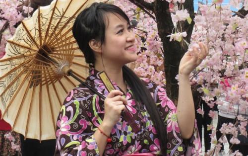 Tất tần tật về Lễ hội hoa anh đào 2017 tại Hà Nội