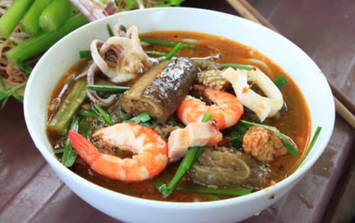 Bún Mắm Sài Gòn – món ăn dân giã của người dân miền Tây