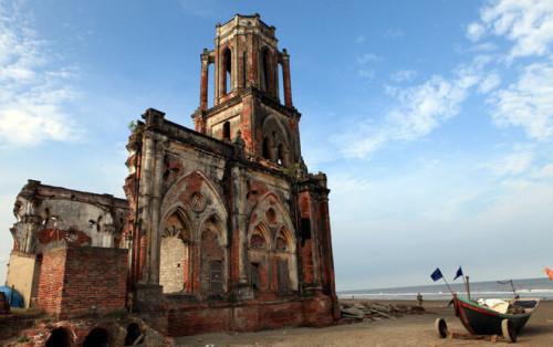 Nhà thờ đổ Nam Định kinh nghiệm đi phượt từ A đến Z