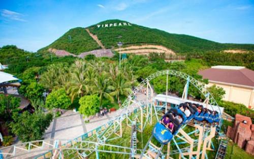 Thỏa thích vui chơi ở công viên Phù Đổng Nha Trang
