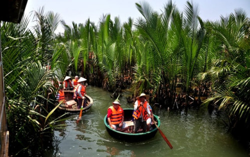 Rừng dừa Bảy Mẫu Hội An trải nghiệm cuộc sống sông nước