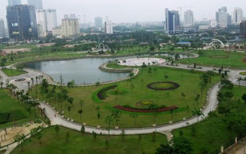 Khám phá công viên Cầu Giấy – công viên đẹp nhất ở Hà Nội