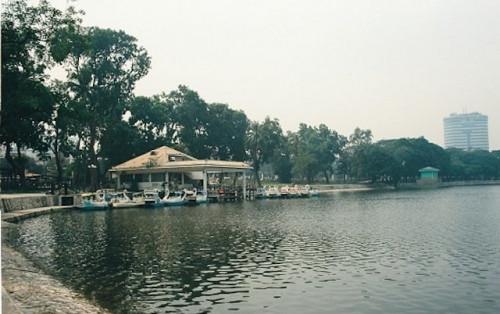 Công viên Thống Nhất địa điểm thư giãn lý tưởng cuối tuần
