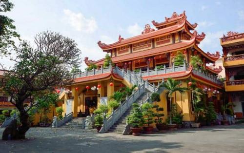 Tìm đến không gian thanh tịnh Chùa Phổ Quang Hồ Chí Minh