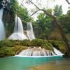 Cùng chiêm ngưỡng vẻ đẹp thiên nhiên kỳ thú của thác Dải Yếm – Mộc Châu