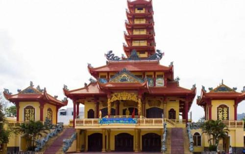 Chùa Long Khánh với niên đại hơn 300 năm ở Quy Nhơn Bình Định