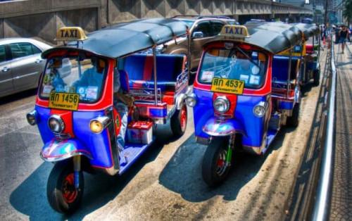 Kinh nghiệm đi xe tuk tuk ở Thái Lan từ A đến Z