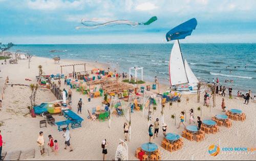 Không Gian MỚi VÀ LẠ Rộng Mở ở Khu Du Lịch Coco Beach Camp