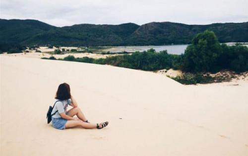 """Đi đồi cát Phương Mai Quy Nhơn đến là """"không muốn về"""""""