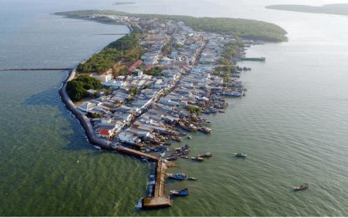 """Hòn đảo Thạnh An – """"Xã đảo"""" bình dị ngay cạnh Sài Gòn"""