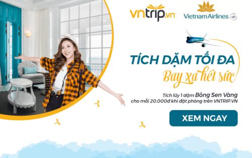 Đăng ký Bông Sen Vàng – Nhận hàng ngàn ưu đãi từ Vietnam Airlines và VNTRIP.VN