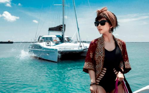 """Du lịch """"cực Tây"""" tại bến du thuyền Marina ở Vũng Tàu"""