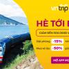 """""""Hè tới bến"""", nhận đến 500.000đ đặt phòng trên Vntrip.vn & mua vé tàu với Momo"""