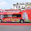 """Trải nghiệm """"city tour"""" trên chuyến xe buýt hai tầng mui trần đầu tiên tại Hà Nội"""