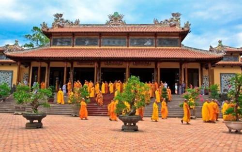 Chùa Từ Đàm xứ Huế lưu giữ nhiều biến cố lịch sử Phật Giáo