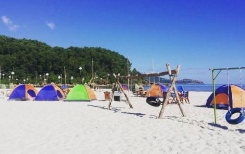 """Bãi biển Cảnh Dương điểm vui chơi """"hot"""" nhất cho giới trẻ tại Huế"""