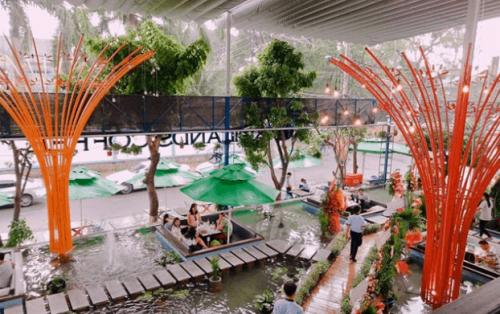 """Những quán cà phê độc lạ với """"hot trend"""" vừa uống vừa ngắm cá ở Sài Gòn"""