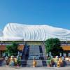 Ngắm nhìn kiến trúc độc đáo Chùa Hội Khánh tại Bình Dương