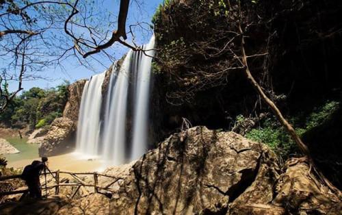 Ghé thăm ngọn thác Bảo Đại hoang sơ ở Lâm Đồng