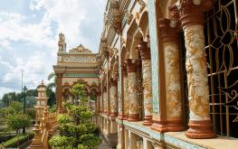 Ghé chùa Vĩnh Tràng Tiền Giang thưởng ngoạn kiến trúc độc đáo