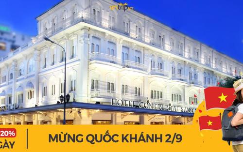 Danh sách các khách sạn giá tốt tại Hồ Chí Minh nhân dịp 2/9