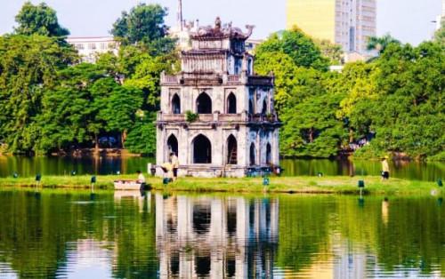 Khám phá Tháp Rùa – Nơi hồn thiêng giữa lòng thủ đô Hà Nội