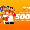 Shopee Sale Sinh Nhật 12.12, lắc Shopee Xu lấy coupon Vntrip.vn!