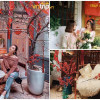 """""""Bùa yêu"""" 2 quán cafe mang phong vị """"Tết xưa"""" ở Hà Nội được giới trẻ check-in ầm ầm"""