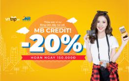 Hè sôi động cùng ưu đãi lớn 20% dành cho chủ thẻ MBBank
