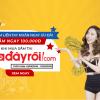 Mua sắm liền tay, nhận ngay ưu đãi – Giảm 100.000đ tại Adayroi.com cho khách hàng của Vntrip.vn