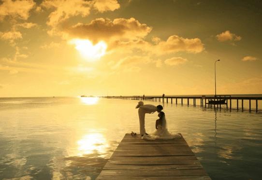 Chụp ảnh cưới đẹp tại làng chài Hàm Ninh - Phú Quốc