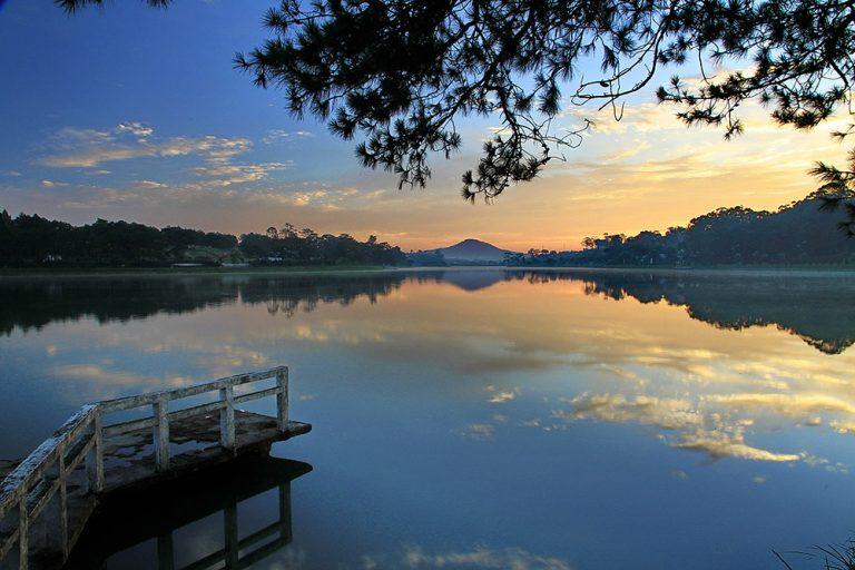 Phát hiện rất lý thú ở hồ Nam Phương Bảo Lộc