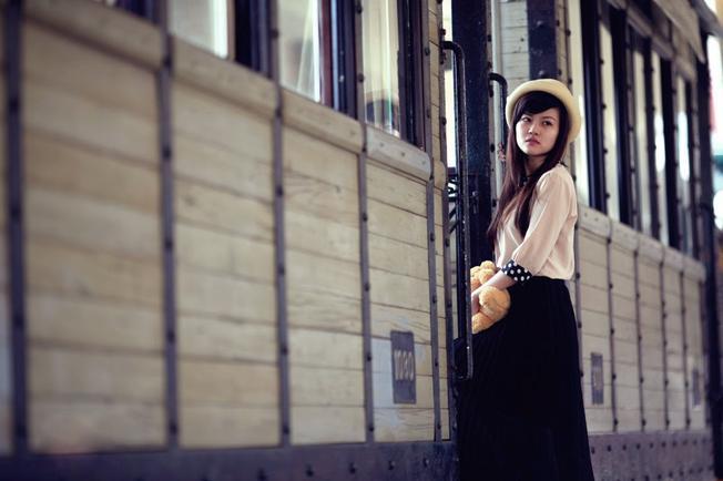 Nhà ga của những giấc mơ cổ tích Những thiên đường chụp ảnh mùa thu ở Hà Nội