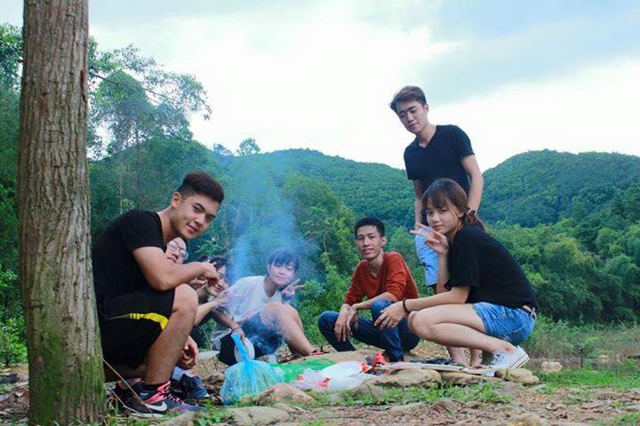 picnic trên núi hàm lợn