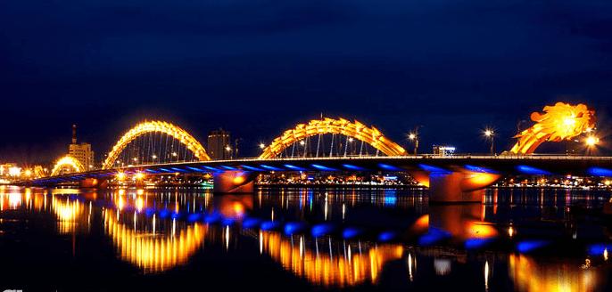 Cảnh đẹp Đà Nẵng - cầu Rồng Đà Nẵng