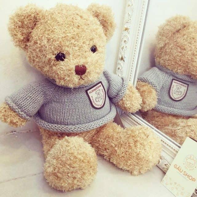 quà tặng bạn gái 20/10 là những chú gấu bông