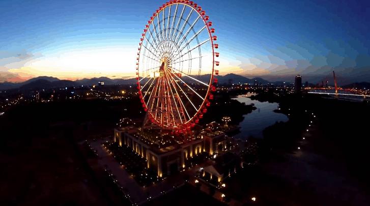 Cảnh đẹp Đà Nẵng: Sun Wheel