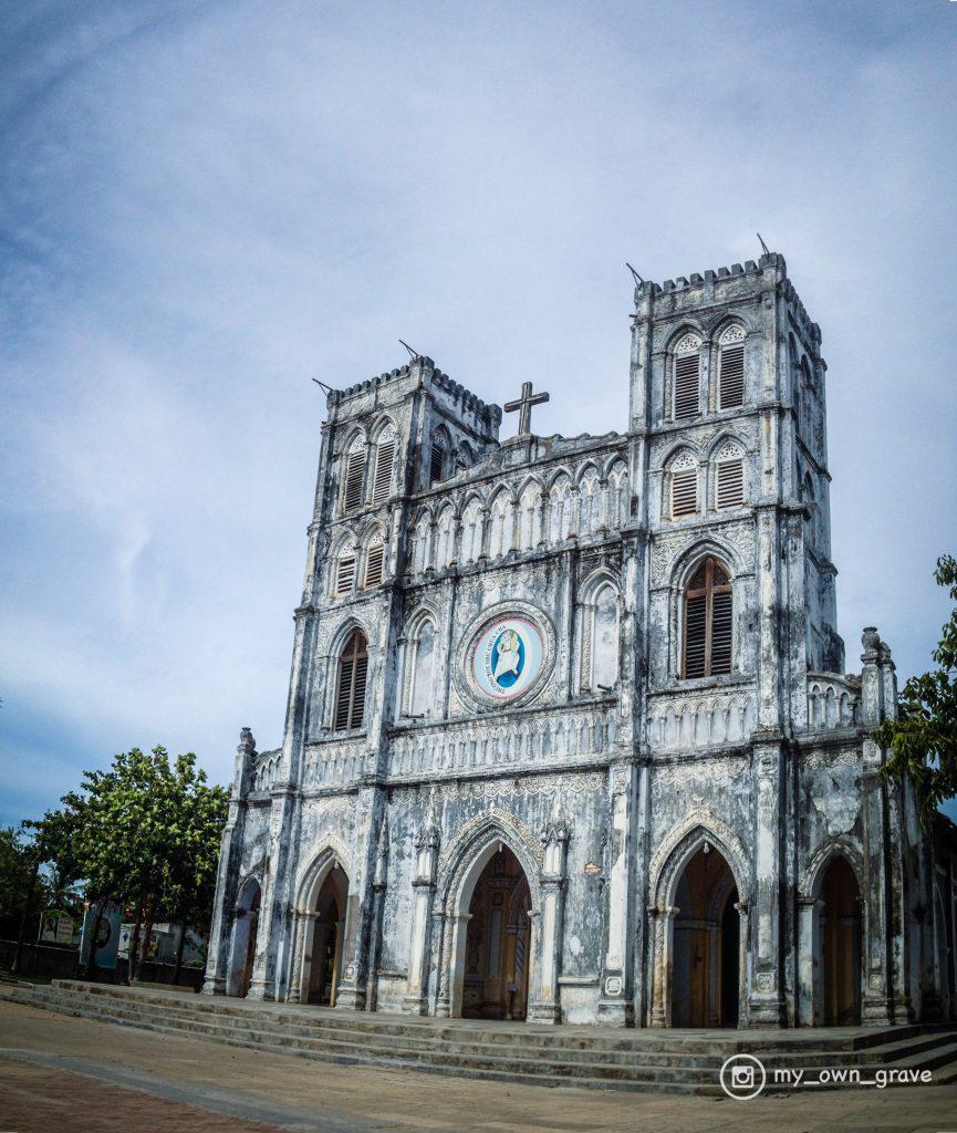 nhà thờ Mằng Lăng, phượt Phú Yên
