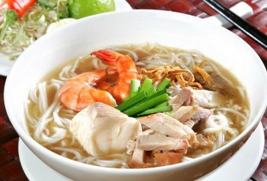 Bát bún Song Thần- đặc sản thơm ngon Bình Định