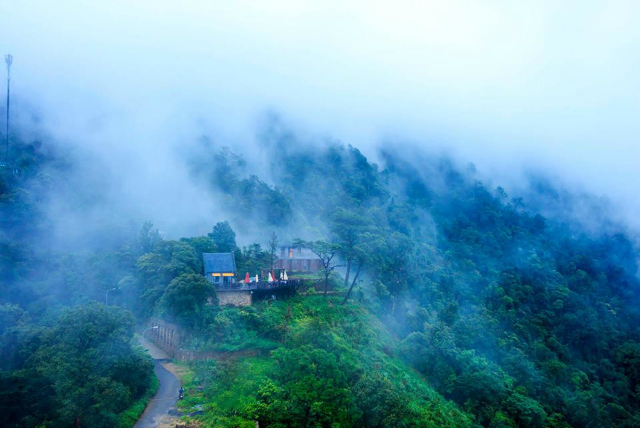 quán gió Tan Đảo - địa điểm chụp ảnh ở Tam Đảo