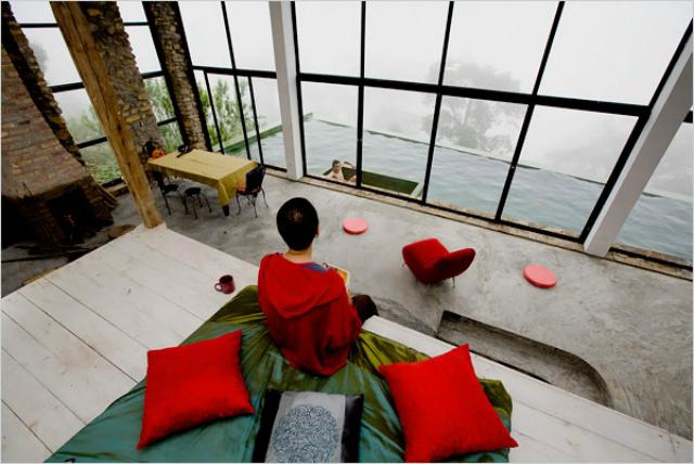 Biệt thự Nguyễn Quý Đức - địa điểm chụp ảnh ở Tam Đảo