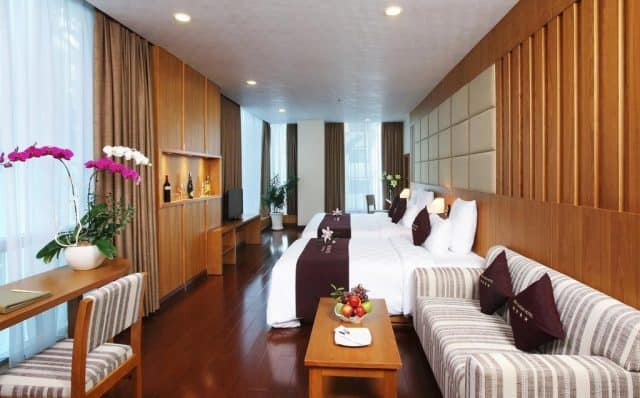 Căn phòng sang trọng của  Eden Star Saigon Hotel (ảnh ST)