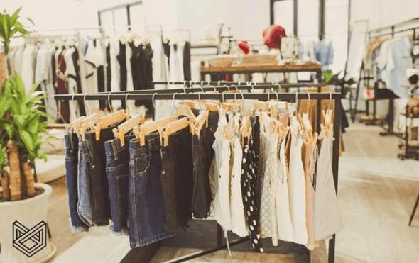 Cửa hàng quần áo Nosbyn tại chung cư 42 Nguyễn Huệ