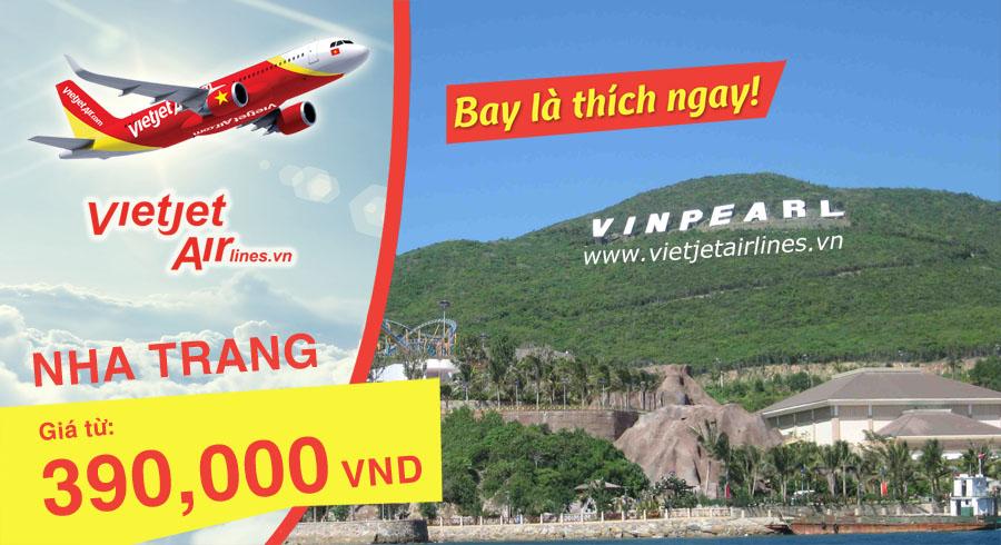 Khởi hành du lịch Nha Trang tiết kiệm hơn thông qua các chương trình bay ưu đãi (Ảnh: ST)