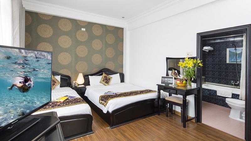 Thiết kế phòng ngủ ấm cúng mang đến những giây phút thư giãn cho du khách