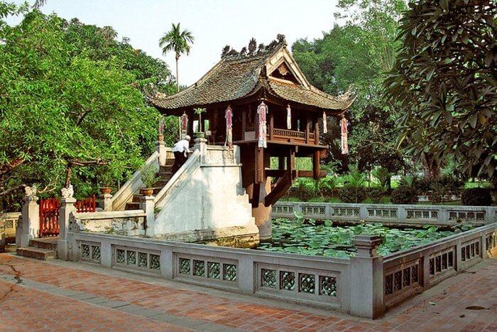 chùa một cột điểm đến thú vị ở Hà Nội