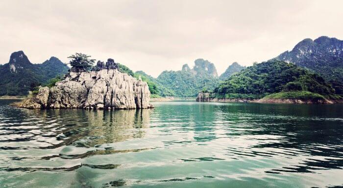 du lịch miền bắc - Thung Nai