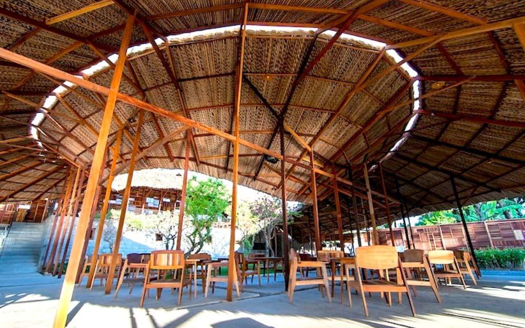 Kin cafe với không gian kiến trúc độc đáo (nguồn sưu tầm)