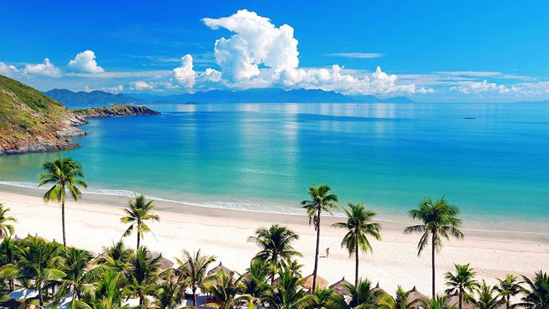 View lý tưởng ngắm vịnh biển Nha Trang tuyệt đẹp tại Diamond Bay Nha Trang (Ảnh: ST)