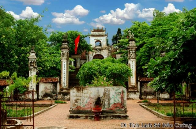 địa điểm du lịch nghệ an: đền cuông